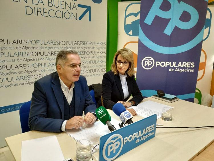 El PP lamenta la inoperante legislatura de Susana Díaz con Andalucía y Algeciras