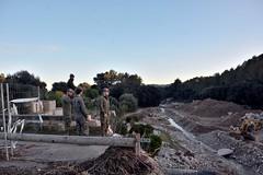 Se instalará, de forma provisional, un puente de #COMGEBAL en carretera Ma-12 a su paso por #Arta, para restablecer circulación, tras las inundaciones