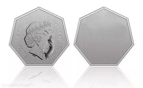 Brexit alternate coin design Queen
