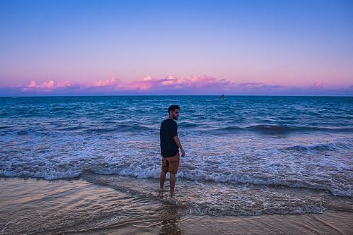 O mar, a terra e Eu