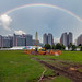 Rainbow at Singapore