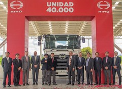 HINO unidad 40.000 en Colombia