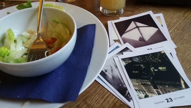 Salad & Polaroids