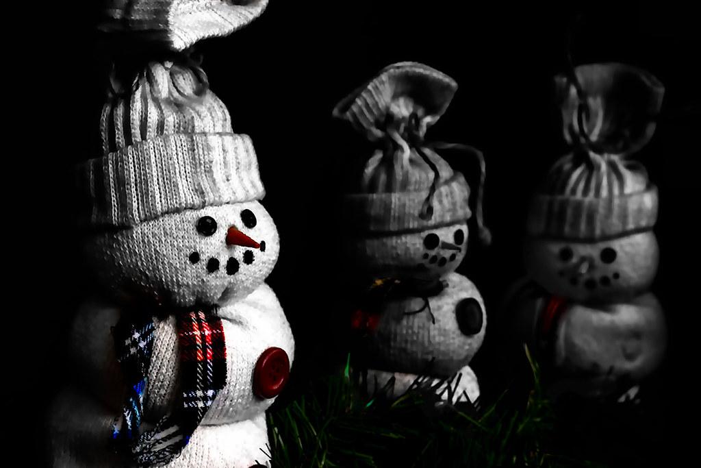 christmas snowmen toys