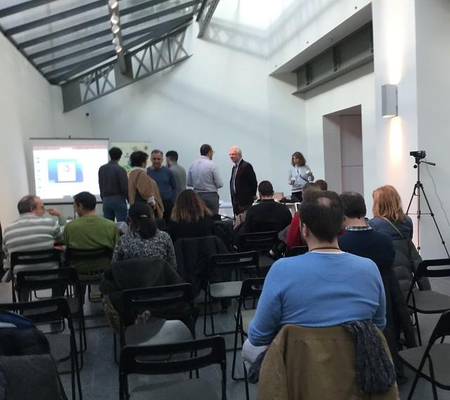 23_11_2018 Seminario eMadrid sobre «Analíticas para el aprendizaje»