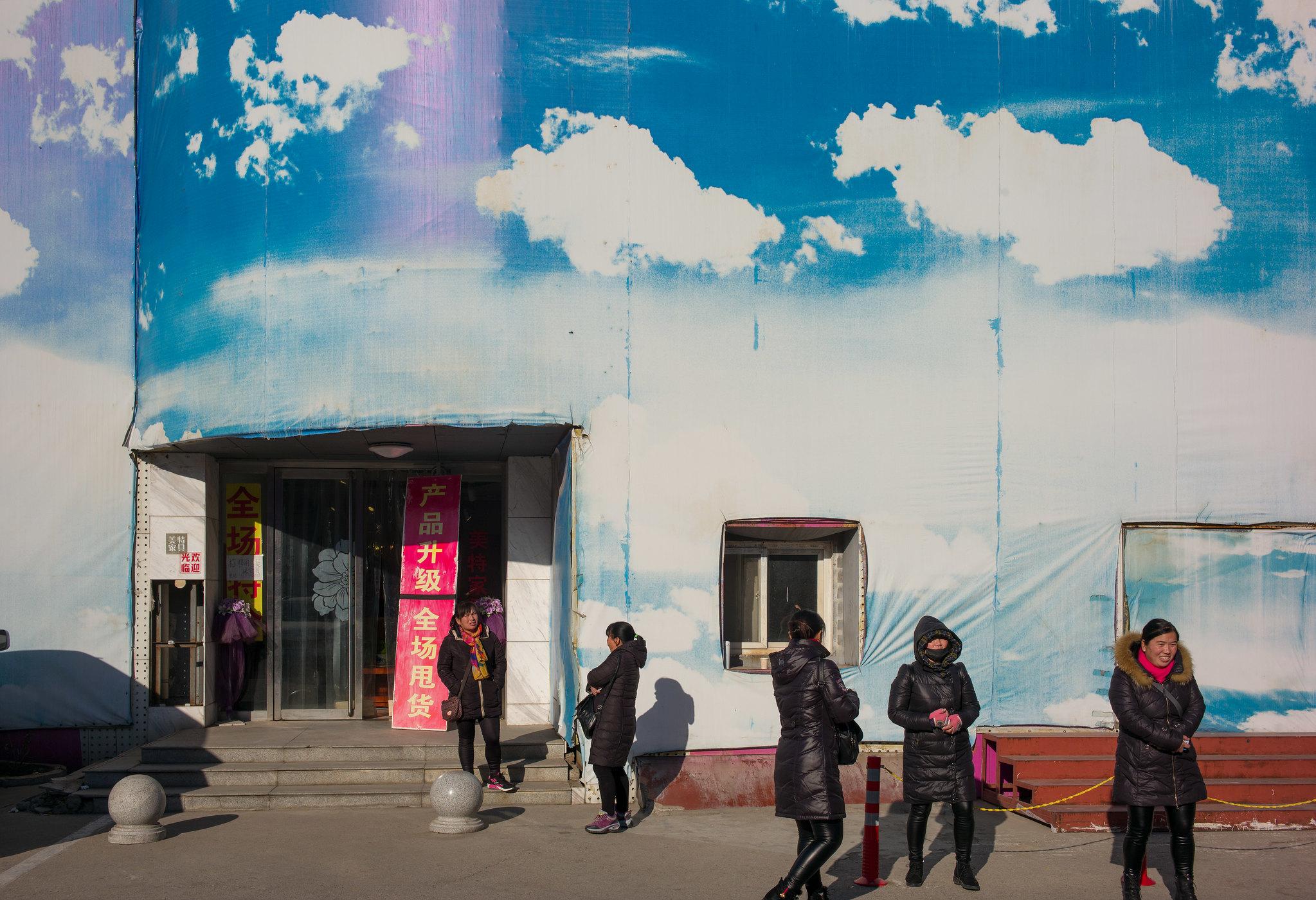 nie Smog - immer strahlend blauer Himmel
