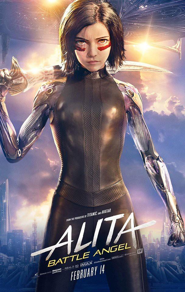 Alita Battle Angel USA Poster