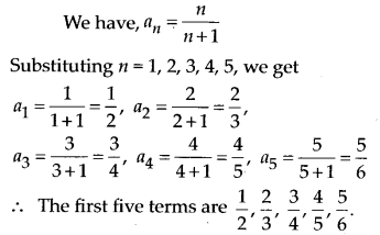 NCERT Solutions for Class 11 Maths Chapter 9 Sequences and Series 1