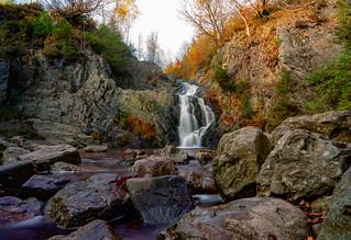 Waterfall of bayehon - Belgium