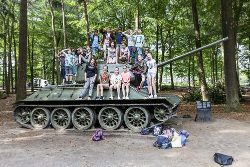 T-34/85 outdoor