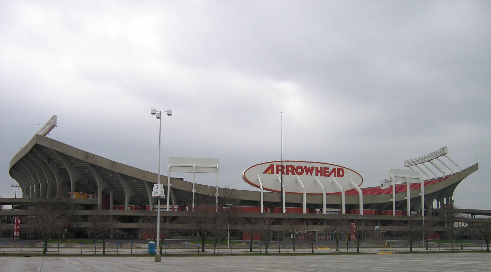 Arrowhead Stadium in Kansas City, Missouri. Photo taken on March 30, 2007.