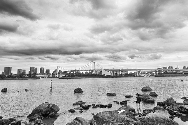 Rainbow bridge in B, Nikon D700, AF-S Zoom-Nikkor 14-24mm f/2.8G ED