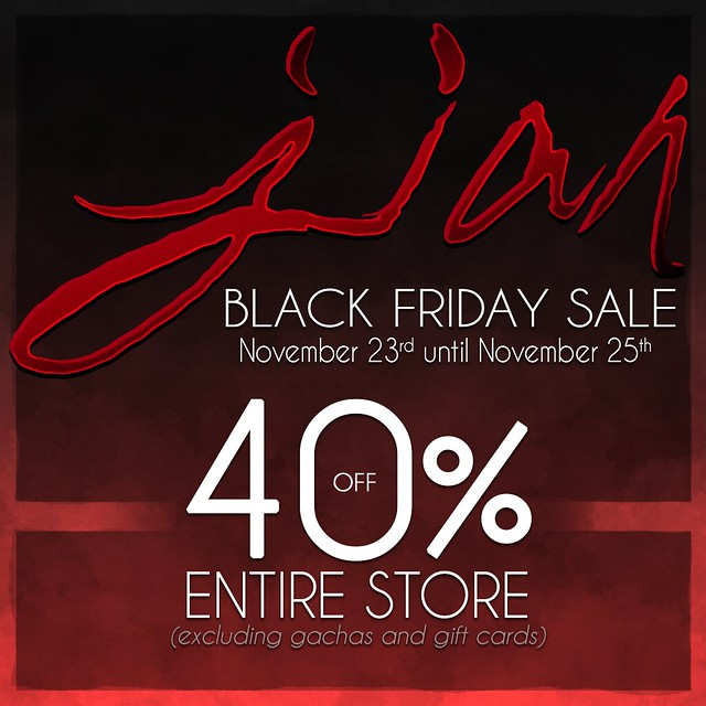 JIAN Black Friday Sale 2018