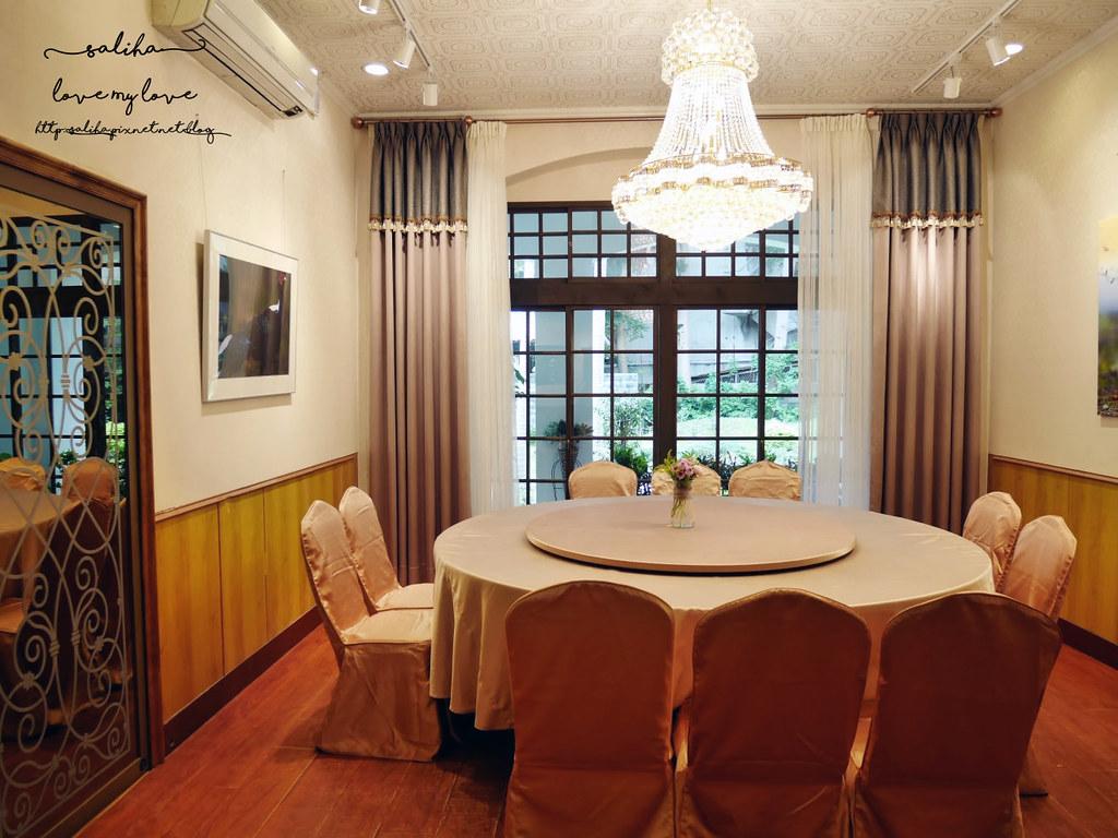 台北中正區附近超美浪漫約會餐廳推薦孫立人將軍官邸陸軍聯誼廳合菜 (7)