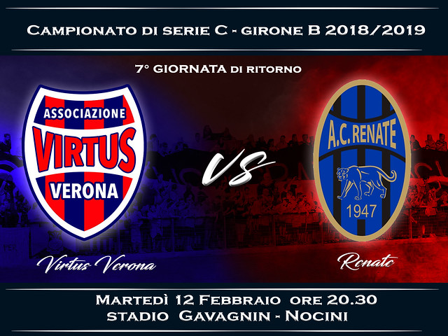 Virtus Verona - Renate 0-1 FINALE