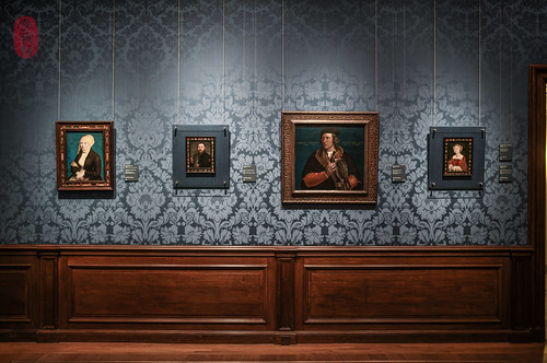 A wall of Holbein.