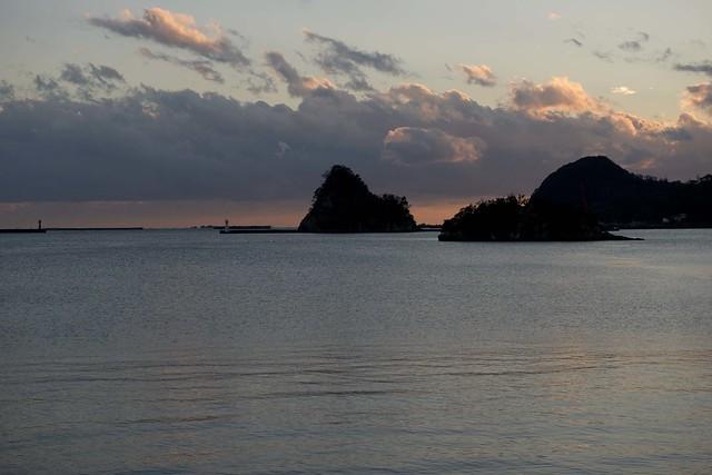 Shimoda Bay 夕暮れの下田湾