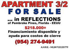 Sale_Apartment_Florida_BienesRaices_AmericanHomes-Real Estate, Inmobiliaria, Vender, comprar, rentar,refinancia