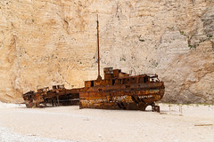 Wreck of the MV Panagiotis Zakynthos Greece