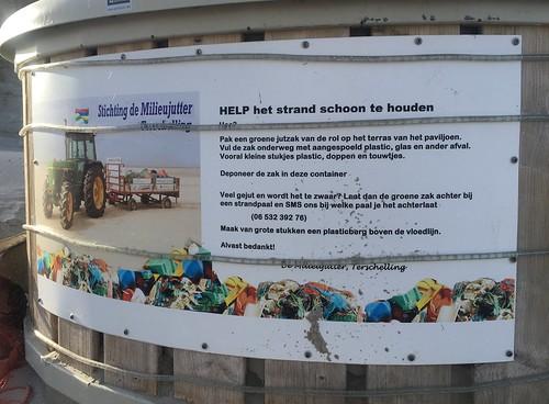 Samen met de milieujutter maken we de wadden weer schoon!