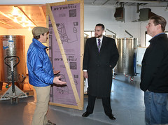 Rep. Davis tours Nordic Moon Meadery in Ellington