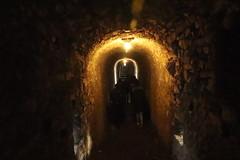 Camminando nella murata sotto Castelgrande a Bellinzona