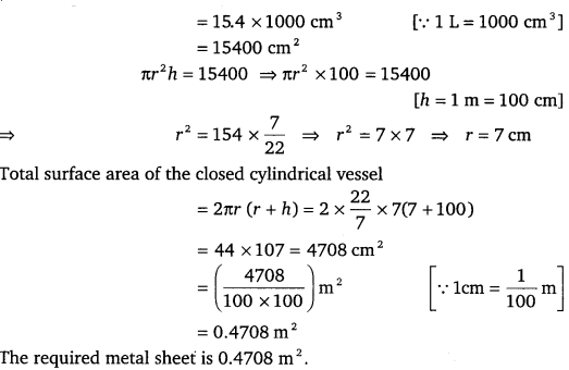 NCERT Solutions for Class 9 Maths Chapter 13 Surface Area and Volumes 37