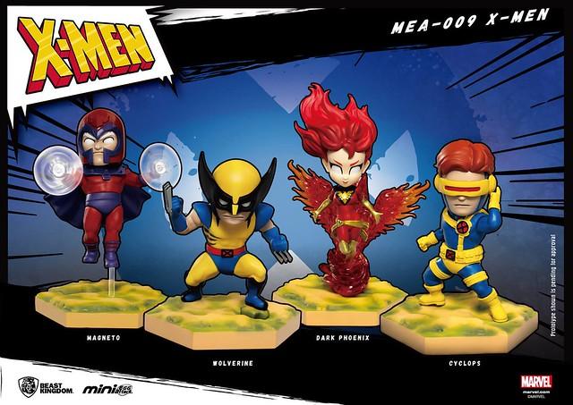 經典的復古造型,人氣X戰警參戰!! 野獸國 Mini Egg Attack 系列【X戰警 角色組】X-Men MEA-009