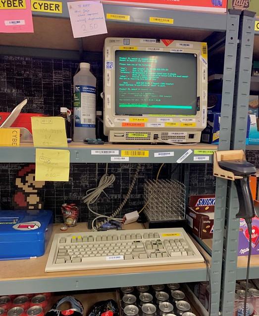 Revspace revbank terminal
