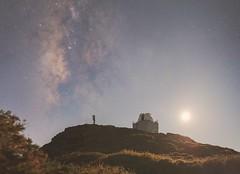 Moonset & Milky Way at JKT - 18.08.2018, La Palma