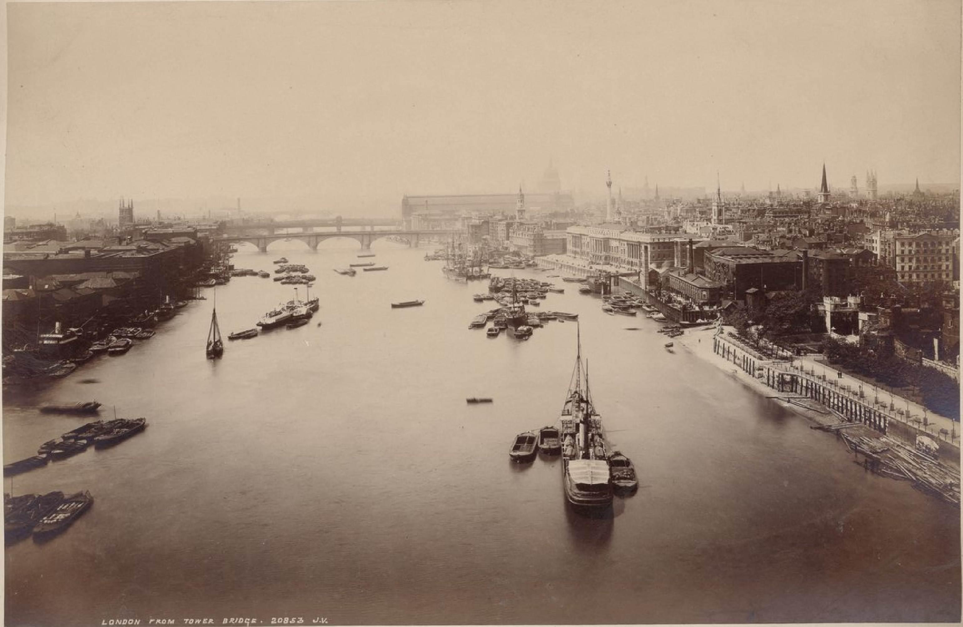 Лондон с Тауэрского моста
