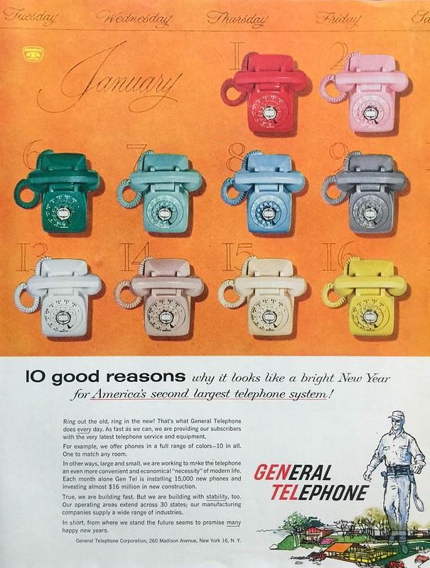 General Telephone 1958