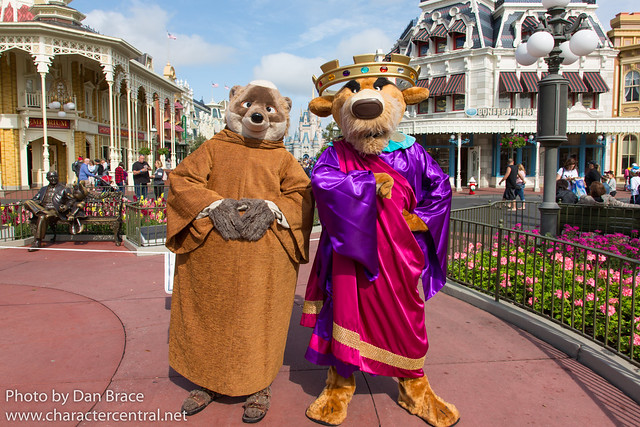 Meeting Friar Tuck and Prince John