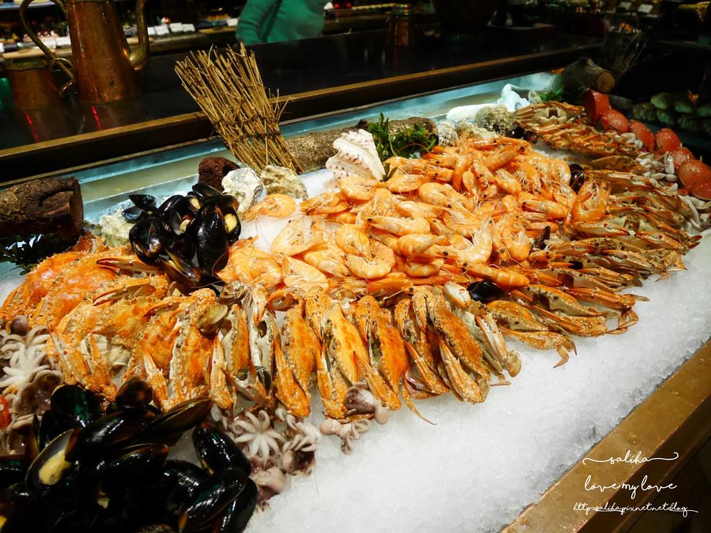 台北飯店下午茶buffet甜點海鮮螃蟹生蠔吃到飽推薦君品酒店雲軒西餐廳 (4)