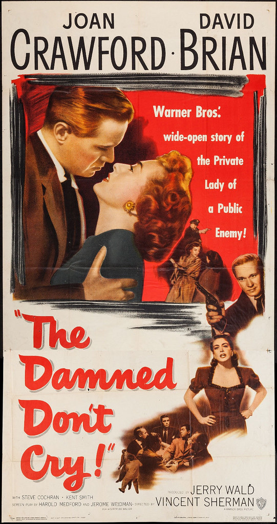 The Damned Don't Cry - Poster 1