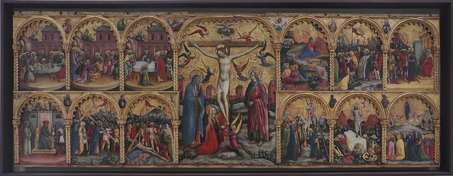 Polittico della Passione, Antonio Vivarni e aiuti, Murano 1415 - 1476(84)