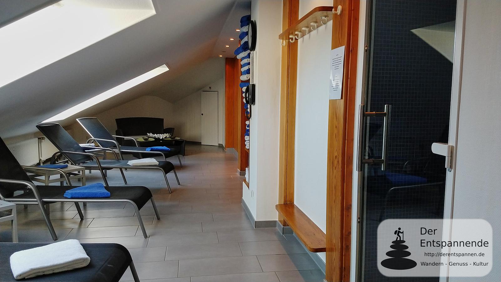 Wellnessbereich im Stadthotel Ettlingen
