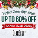 Gearbest Up to 60% OFF for Christmas Deals! promotion