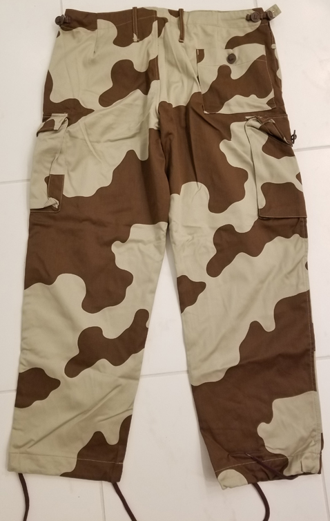 Tunisia - Groupement Territorial Saharien (GTS) Camouflage Trousers  44473791670_6cbcedd1d4_o