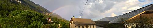 Panorama - Hermagor - Regenbogen