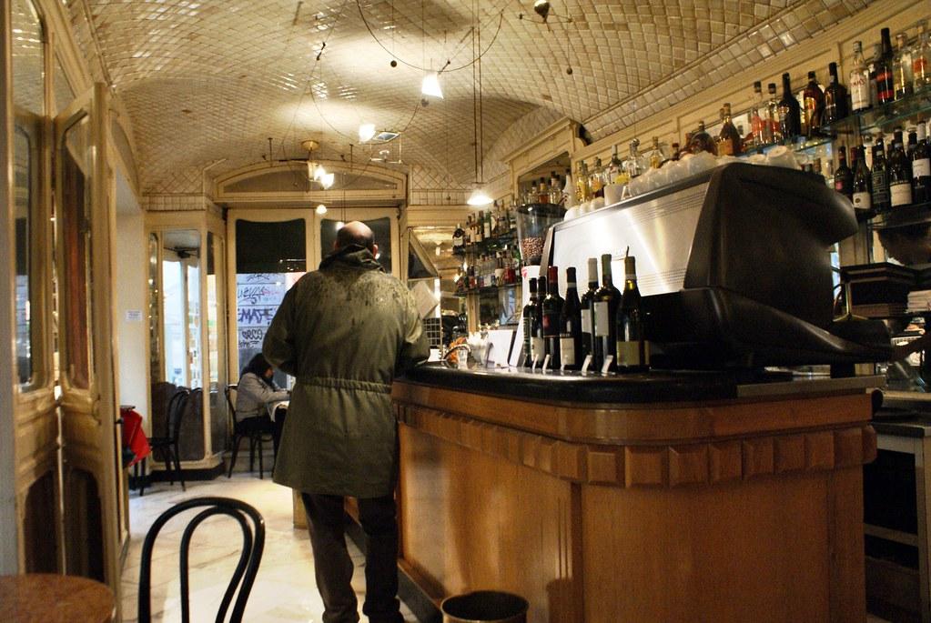 Caffè degli Specchi, le plus vieux café de Gènes