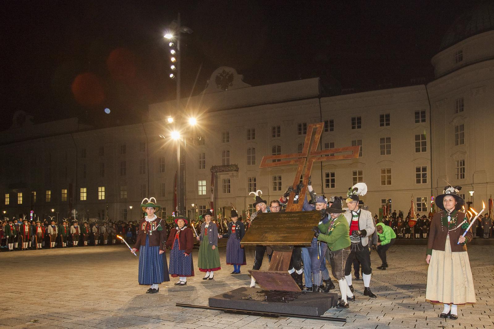 100 Jahre Ende 1. Weltkrieg, Innsbruck, 02.11.2018