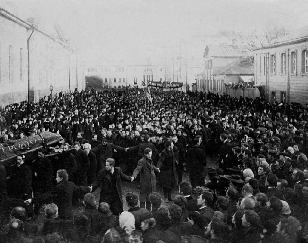 Похороны Николая Баумана. 20 октября