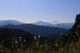 富士山, 高尾山より