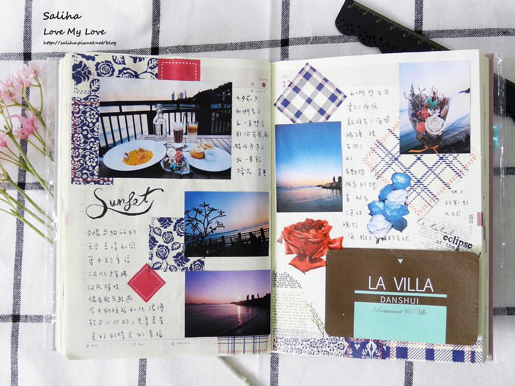 手帳日記裝飾分享紙膠帶設計水彩遊記 (7)