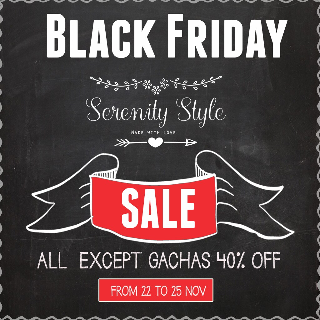 Serenity Style -Black Friday Sale - TeleportHub.com Live!