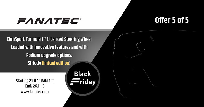 Fanatec 2018 Black Friday Deal 5