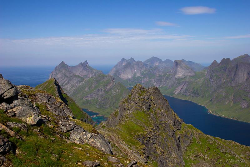 Reinefjorden depuis le Munken