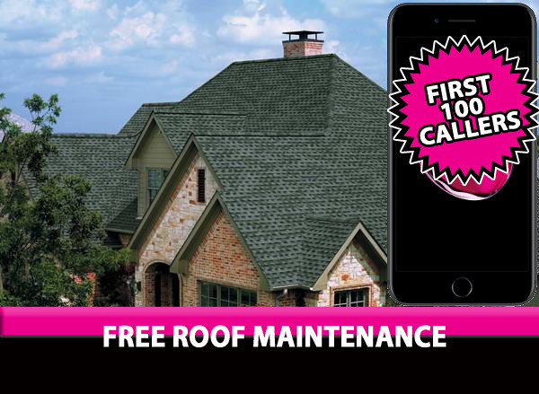 Free Roof Maintenance 30 year roofing-shingles