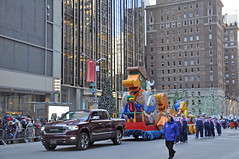 Leona Lewis- Louis the Duck- 2018 Macy's Thanksgiving Day Parade